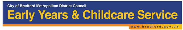 Childcare Sufficiency Assessment - Bradford Council